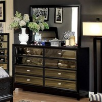 Breathtakingly Awesome Wooden Dresser In Contemporary Style, Black