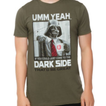 Star Wars Darth Vader Office T-Shirt