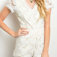 All About That Lace Romper