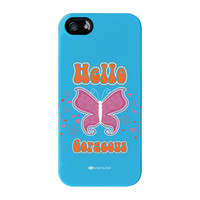 Sassy - Hello Gorgeous #10433 Full Wrap Premium Tough Case for iPhone 5 / 5s by Sassy Slang