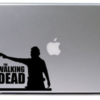 Walking Dead Decal / Rick Walking Dead Decal / Macbook Decal / Laptop Decal / Car Decal
