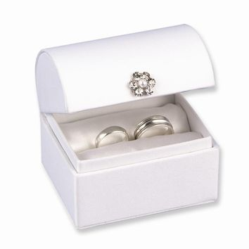 Treasure Chest Ring Box - Engravable Personalized Perfect Wedding Gift