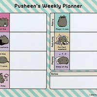 Pusheen® Weekly Planner Desk Pad Accessory with book – April 4, 2017