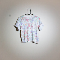 Vintage Floral Tee! Womens Size Small