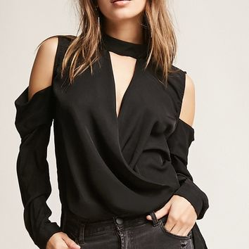 Open Shoulder High-Low Top
