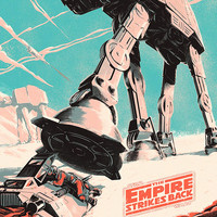 Star Wars The Empire Strikes Back Fan Poster