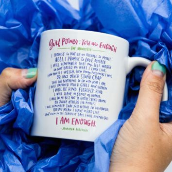 Girl Power Mug: You Are Enough