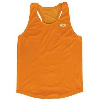 Orange Running Tank Top Racerback Track and Cross Country Singlet Jersey