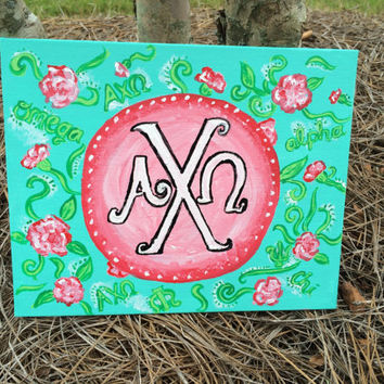 Custom Sorority/Monogram Canvas
