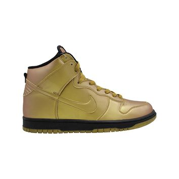 Nike Men's Dunk High Olympic Metallic Gold