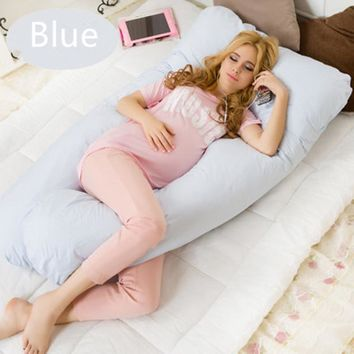 U Shape Maternity Pregnancy Comfortable Body Pillow