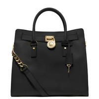 Hamilton Large Saffiano Leather Tote | Michael Kors