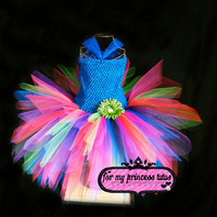 Lil Spunky Tutu Dress -for baby, infant, toddler, dance, dress up, pageant, flower girl, photo props, birthdays, baby shower, gift, wedding