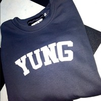 SWEET LORD O'MIGHTY! LIL YUNGIN PULLOVER IN GREY