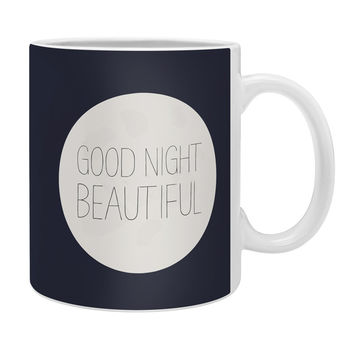 Allyson Johnson Good Night Beautiful Coffee Mug