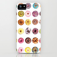 DONUT PATTERNS iPhone & iPod Case by PO YAN