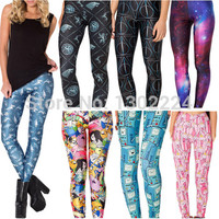 Fitness Adventure Time Leggings Printed Mr Shark Galaxy Harry Potter Sport Women Leggings Adventure Time Casual Pants Plus Size-in Leggings from Women's Clothing & Accessories on Aliexpress.com | Alibaba Group