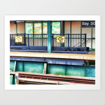 Bay 50 Street Art Print by lanjee