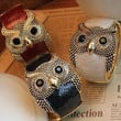 Young & Forever Owl Bangle
