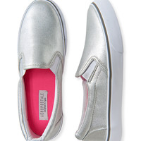 Metallic Deck Shoe