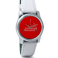 Cycle Graph Art Illustration Wrist Watch