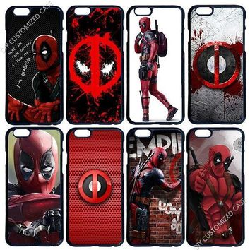 Deadpool Phone Shell Case Cover for Samsung Galaxy Note 2 3 4 5 S2 S3 S4 S5 Mini S6 Edge LG G3 G4 G5 G6