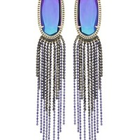 Amy Statement Earrings in Iridescent Black - Kendra Scott Jewelry