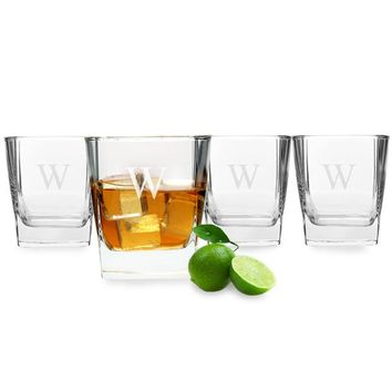 Personalized Rocks Glasses (Set of 4)