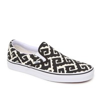 Vans Classic Slip-On Shoes - Mens Shoes - Black