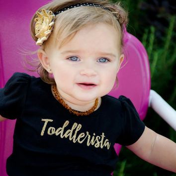 Toddlerista Kids Tee Toddler Girls T-Shirt Design