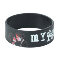 My Chemical Romance Three Cheers Rubber Bracelet