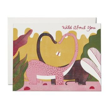 RED CAP CARDS DINO LOVE CARD