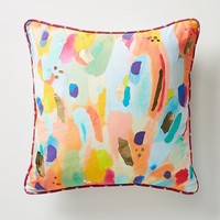 Lillian Farag Painterly Pillow