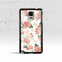 Pink Carnations Floral Case Cover for Samsung Galaxy S3 S4 S5 S6 Edge Active Mini or Note 1 2 3 4 5