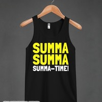 Summa Time-Unisex Black Tank