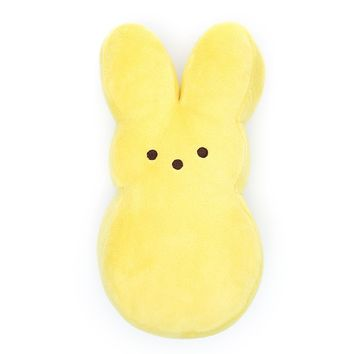 Perfectly Plush Peep Pillow - Yellow
