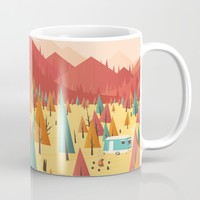 Go out Mug by Roland Banrevi