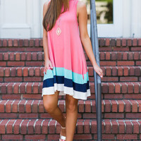 Ocean Dreams Dress, Coral