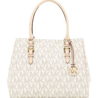 MICHAEL Michael Kors  Medium Jet Set Logo Work Tote - Michael Kors