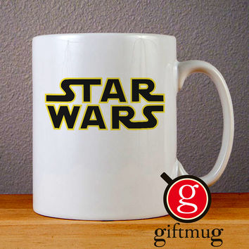 Star Wars Logo Ceramic Coffee Mugs