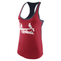 Nike Tri-Blend Loose Racerback 1.4 (MLB Cardinals) Women's Tank Top