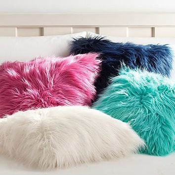 Fur-Rific Faux Fur Pillow Covers