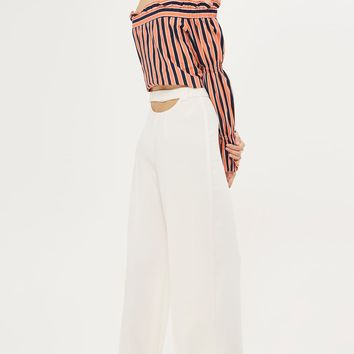 Open Back Wide Leg Trousers | Topshop