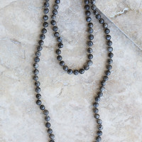 Altar'd State Crystal Creel Necklace - Choker Necklaces - Jewelry