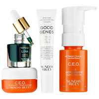 Sunday School Skincare Set - SUNDAY RILEY | Sephora