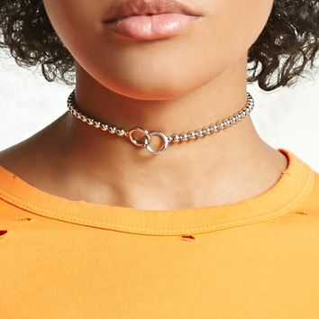 Beaded O-Ring Choker