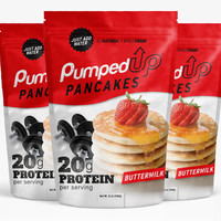 3 Pack (3 x 12oz) Protein Pancake Mix - Buttermilk