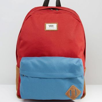 Vans Old Skool II Backpack In Red V00ONIKH6