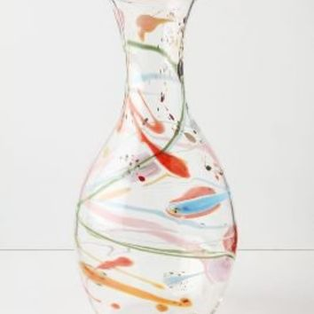 Saturated Swirls Vase - Anthropologie.com