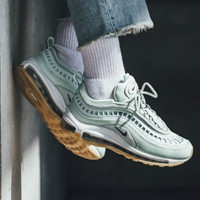 Nike AIR MAX 97 UL Tide brand air cushion breathable hollow men and women sports shoes Mint Green